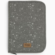 Protège carnet de santé Weekend Constellation Etoile gris