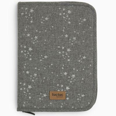Protège carnet de santé Weekend Constellation Etoile gris  par Tuc Tuc