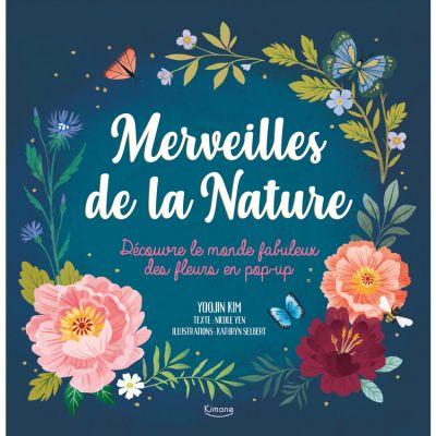 Livre pop-up Merveilles de la Nature  par Editions Kimane