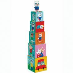 Cubes empilables Bunnybloc (5 pièces)