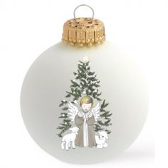 Boule de Noël Ange de Noël x Petit Berge