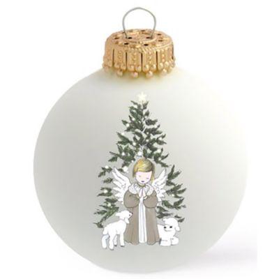 Boule de Noël Ange de Noël x Petit Berge  par Baubels