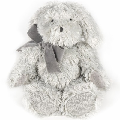 Peluche lapin Sweet Tweed gris (30 cm) Pasito a pasito