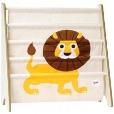 Bibliothèque en tissu Lion