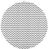 Tapis de parc Apache Zigzag noir (105 cm) - Nobodinoz