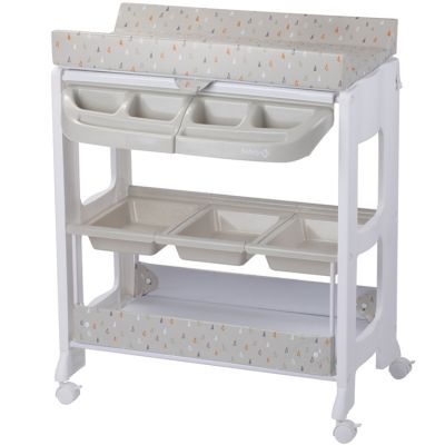 Table A Langer Avec Baignoire Dolphy Warm Grey Safety 1st