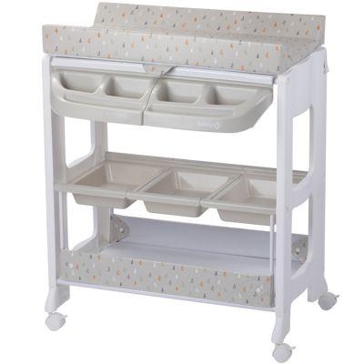 Table à langer avec baignoire Dolphy Warm Grey  par Safety 1st