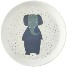 Assiette plate Mrs. Elephant