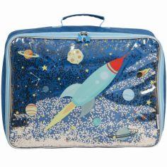 Petite valise à paillettes Espace
