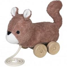 Jouet à tirer Mingus écureuil
