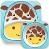 Ensemble assiette et bol Zoo Girafe - Skip Hop