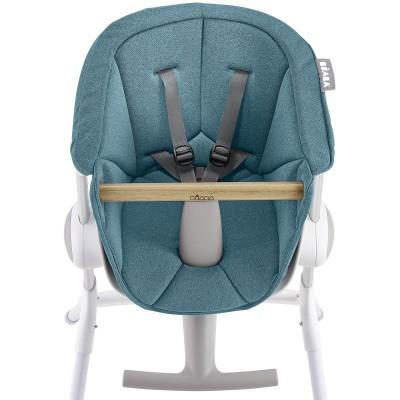 Assise Chaise haute Up&Down bleu Béaba