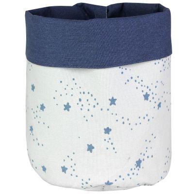 Panier de toilette Etoiles bleu (20 x 25 cm)  par Art for Kids