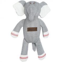 Peluche éléphant gris Cottage (21 cm)