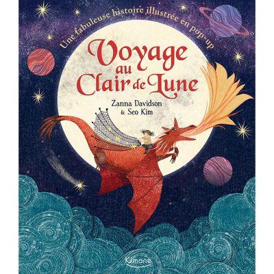 Livre pop-up Voyage au clair de la lune  par Editions Kimane