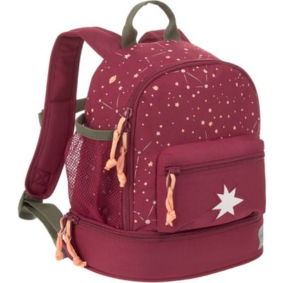Sac à dos bébé étoile Magic bliss framboise Lässig