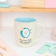 Mug Premier bébé père heureux et fatigué