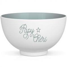 Bol en porcelaine Papy Chéri
