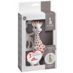 Coffret cadeau Sophie la girafe award avec Médecins Sans Frontières