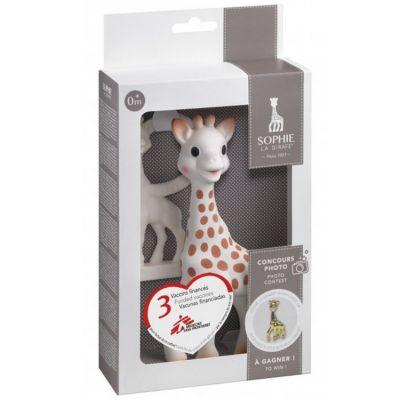 Coffret cadeau Sophie la girafe award avec Médecins Sans Frontières  par Sophie la girafe