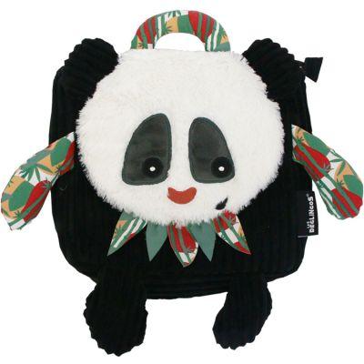 Sac à dos bébé peluche Rototos le panda  par Les Déglingos