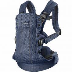Porte bébé Harmony tissu Mesh 3D bleu marine