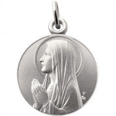 Médaille Ave Maria 18 mm (argent 925°)