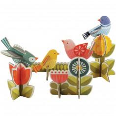 Oiseaux en 3D