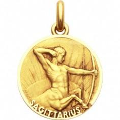 Médaille signe Sagittaire (or jaune 750°)