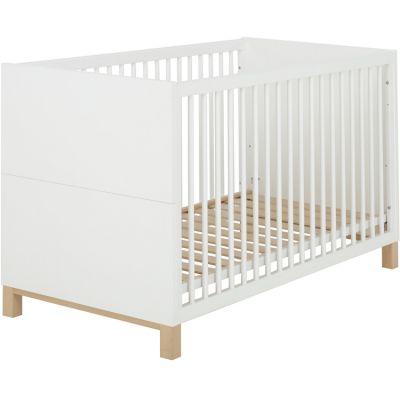 Lit bébé blanc Céleste (70 x 140)  par Galipette