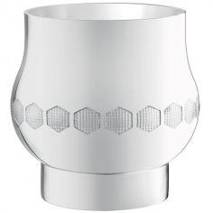 Coquetier Beebee (métal argenté)