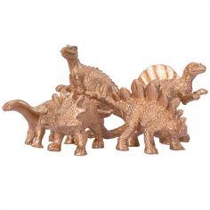 Lot de 5 dinosaures décoratifs