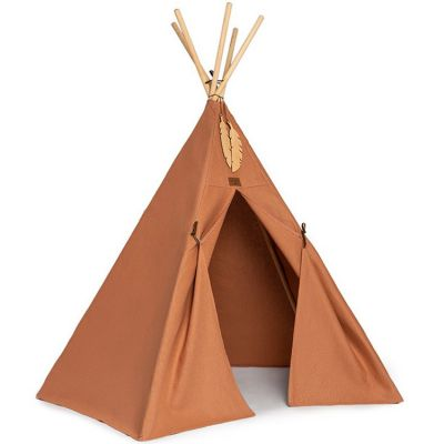 Tente tipi Pure Line Nevada sienna brown  par Nobodinoz