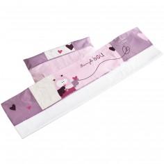 Drap + taie d'oreiller Mam'zelle Bou (190 x 140 cm)