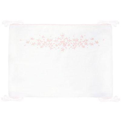 Tour de lit Feuille de lin (pour lits 60 x 120 et 70 x 140 cm)  par Tartine et Chocolat