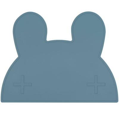 Set de table lapin bleu We Might Be Tiny