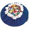 Sac à jouets 2 en 1 bleu - Play&Go