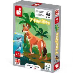 Jeu des 7 familles Le règne animal WWF