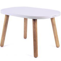 Petite table Ovaline blanche