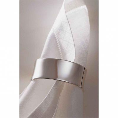Rond de serviette Alt-Spaten (métal argenté)  par Robbe & Berking