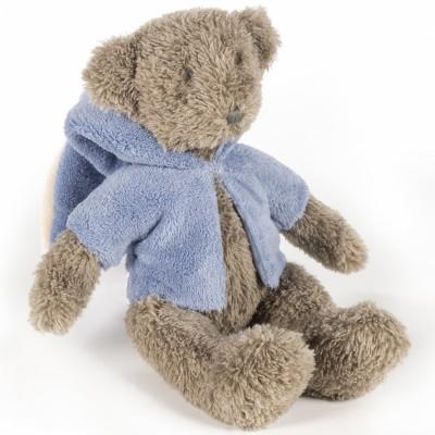 Peluche ours Sophie bleu (30 cm) Pasito a pasito