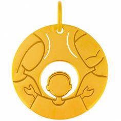 Médaille Sainte Famille (or jaune 18 carats)
