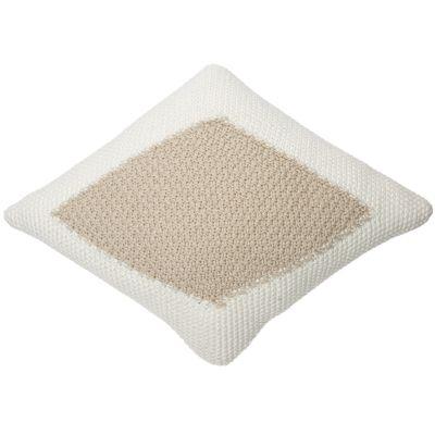 Coussin losange Candy Vanilla beige (30 x 40 cm)  par Lorena Canals