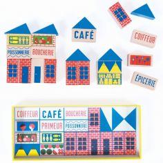 Mini jeu de construction Dans la ville (23 pièces)