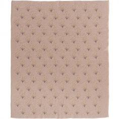 Couverture bébé en coton bio Dandelion (80 x 100 cm)