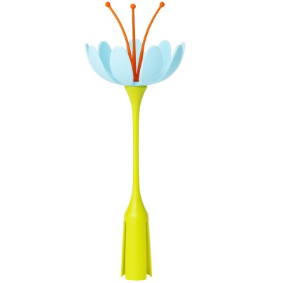 Fleur égouttoir Stem orange et bleu  par Boon
