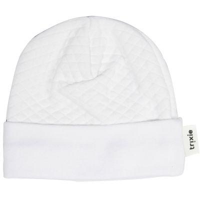 Bonnet de naissance Diamond White Trixie