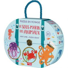 Livre et puzzle Le sous-marin des animaux