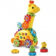 Girafe d'activités à engrenages magiques Zooz
