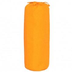 Drap housse orange (70 x 140 cm)
